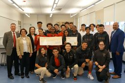 Toshiba invests in Salesian Hands-On Learning